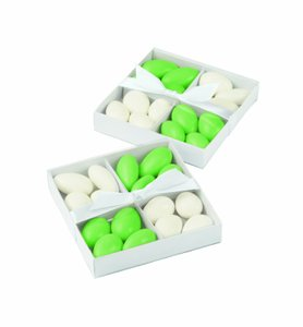 Party Favors Wilton White Candy Compartment Box Kit 20 Count