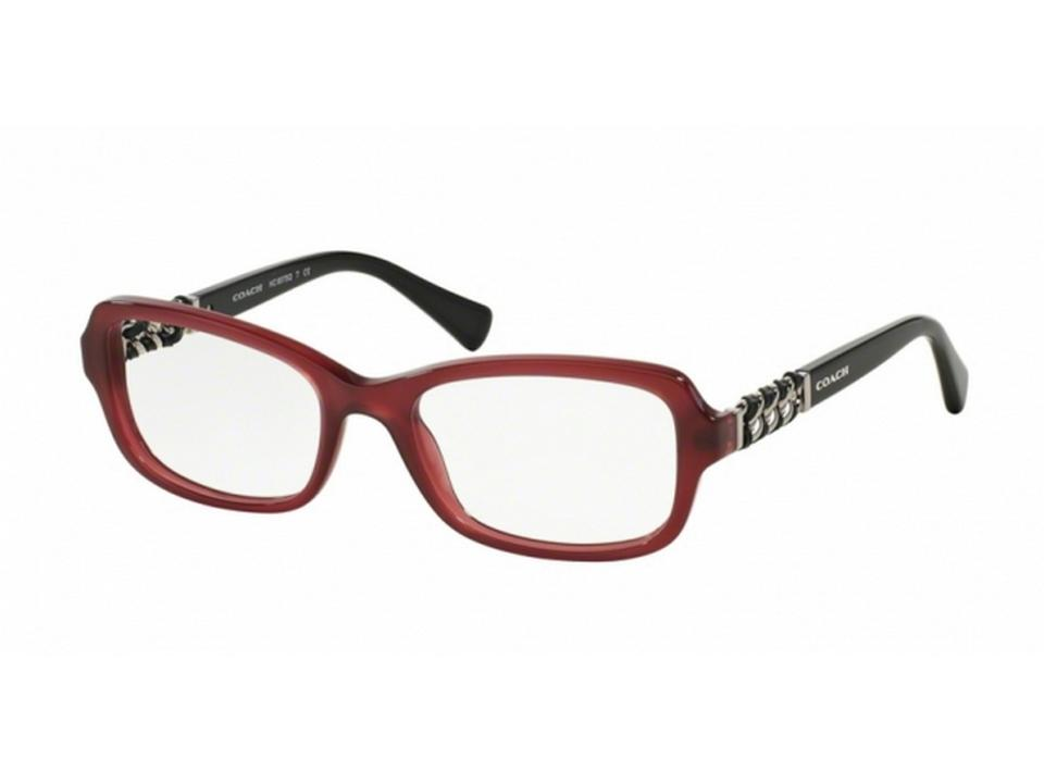 0c93c2a9ac04 Coach HC6075QF-5321 Butterfly Women s Red Frame Genuine Eyeglasses NWT  Image 0 ...