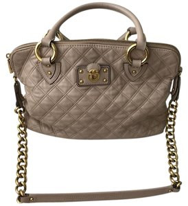 Marc Jacobs Satchel in beige/light pink