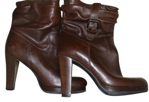 Gastone Lucioli Leather Italy Size 38 Brown Boots