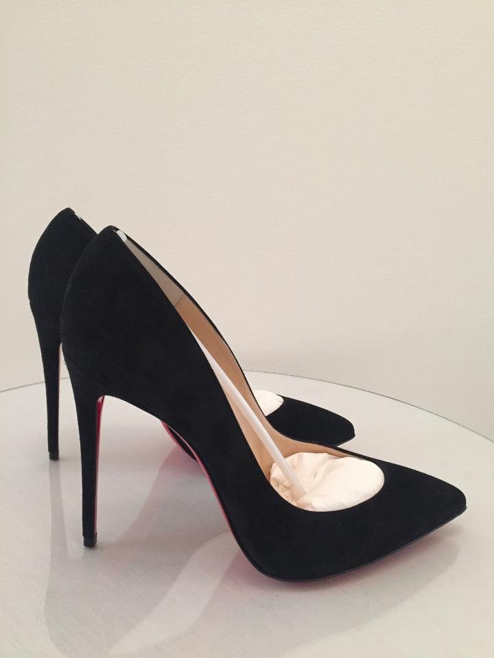 new style 8209e d0c38 Christian Louboutin Black - Pigalle Follies 100mm Suede Pumps Size US 5  Regular (M, B)