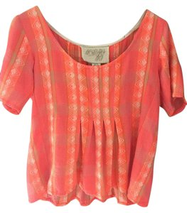 ace&jig Top Coral multi