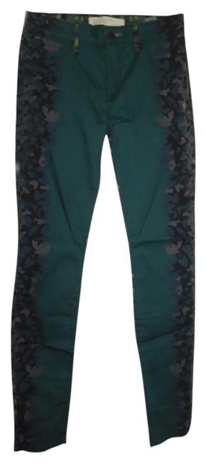 Marc by Marc Jacobs Multi-color Garden Green M1123915 Pants Size 6 (S, 28) Marc by Marc Jacobs Multi-color Garden Green M1123915 Pants Size 6 (S, 28) Image 1