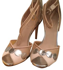 Fendi Silver and nude Formal