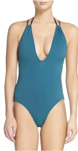 Solid & Striped NWOT Solid & Striped Alexandra One-Piece Swim Suit Green Jade Black S Small