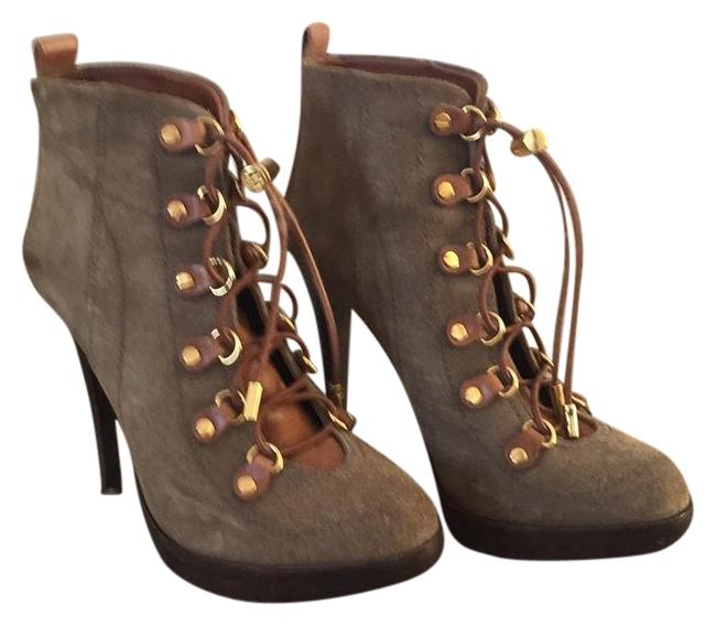 Item - Green Halima Suede Ankle Boots/Booties Size US 8.5 Regular (M, B)