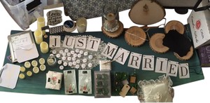 Lot Of Rustic Woodsy Wedding Decor