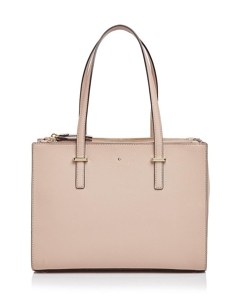 65b00658b6 Kate Spade Small Jensen Shoulder Crosshatched Leather Toe Tote in Toasted  Wheat Image 0 ...