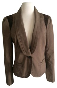 Other Preppy brown pinstripe Blazer