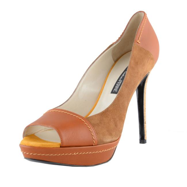 Item - Multi-color Women's Leather High Heel Open Pumps Size US 11 Regular (M, B)