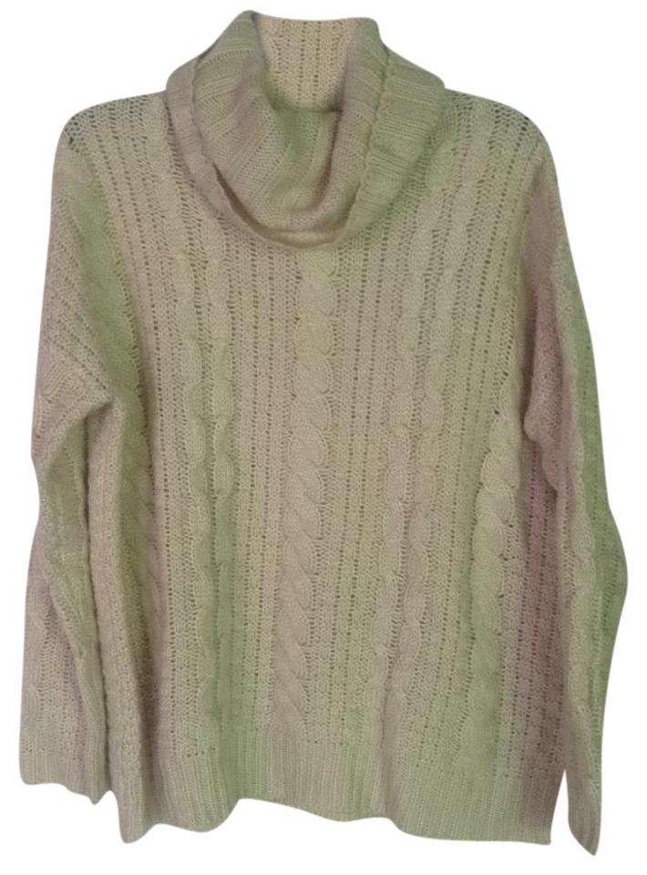 Forever 21 Oatmeal Thick Cozy Cable Knit Sweaterpullover Size 8 M