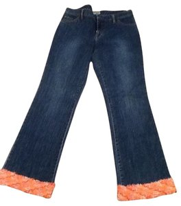 Too She-She Flare Leg Jeans-Medium Wash