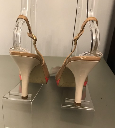Rampage WHITE/NUDE/CORAL Sandals Image 1