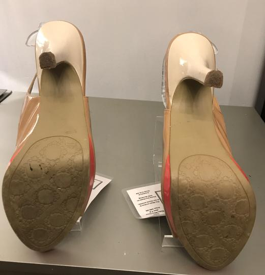 Rampage WHITE/NUDE/CORAL Sandals Image 2