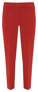 Gucci Straight Pants Red