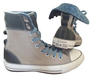 Converse Leather Grey Athletic