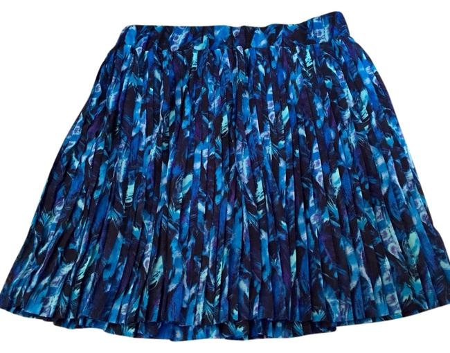 New York & Company Skirt Blue