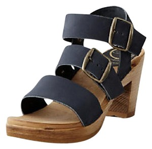 Mix No. 6 Clogs Platform Black Sandals
