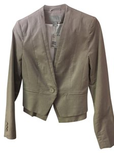 H&M Peplum Light tan Jacket