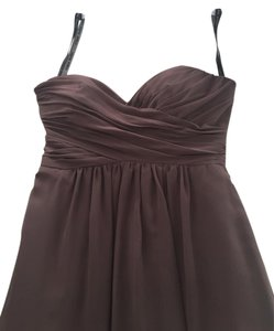 Alfred Angelo Strapless Chiffon Dress