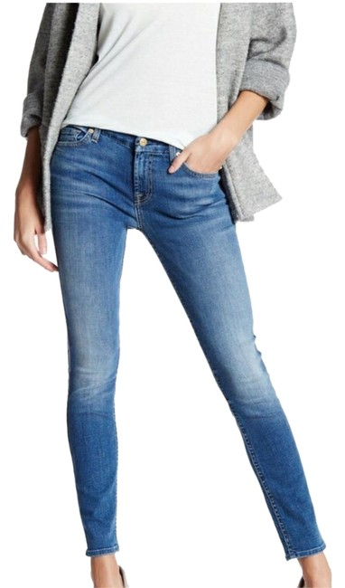 Item - Distressed Ankle Skinny Jeans Size 24 (0, XS)