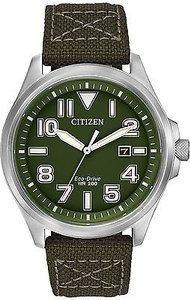 Citizen Citizen Eco-drive Military Nylon Mens Watch