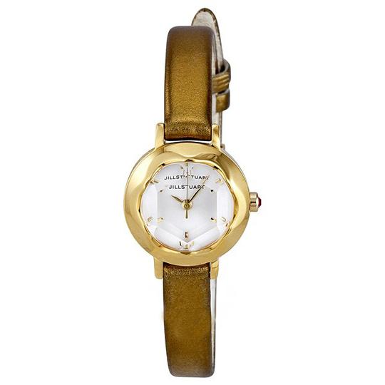 Preload https://img-static.tradesy.com/item/21702941/jill-stuart-gold-ring-light-pink-mother-of-pearl-dial-green-leather-strap-ladies-watch-0-0-540-540.jpg
