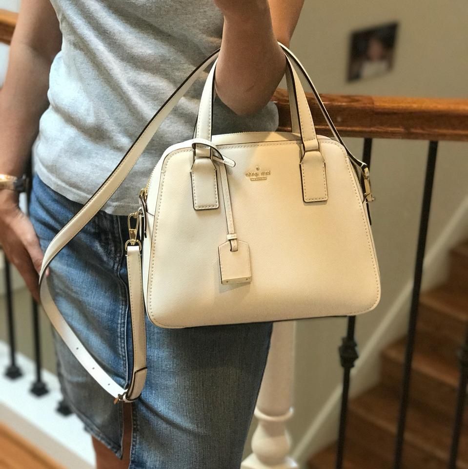 fbcce5c84a4 Kate Spade New York Cameron Street Little Babe Cement Leather ...