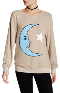 Wildfox Moon Stars Baggy Jumper Sweater
