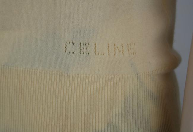 Céline Cashmere Sleeveless Collar Sweater Image 4