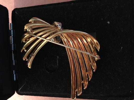 Dankner Dankner Diamond Yellow Gold Pin Pendant Image 1