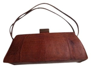 Vintage Coin Purse Included Satchel in Brown