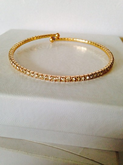 Other Embellished by Leecia 2-Piece Crystal & Gold-Tone Bracelets Image 5