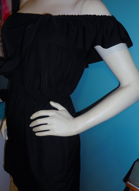 Roxy short dress Black Off The Shoulder Little Part on Tradesy