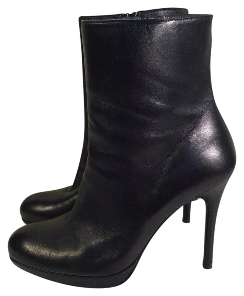 Stuart Weitzman Black Sexy Soft Smooth Leather Sexy Black Heels Boots/Booties 73fb71