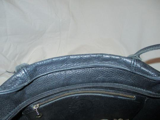 M. London Leather Tote in black Image 9