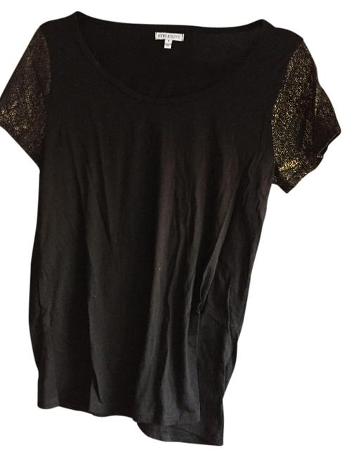 Preload https://item4.tradesy.com/images/stylemint-black-tee-shirt-size-4-s-2170678-0-0.jpg?width=400&height=650
