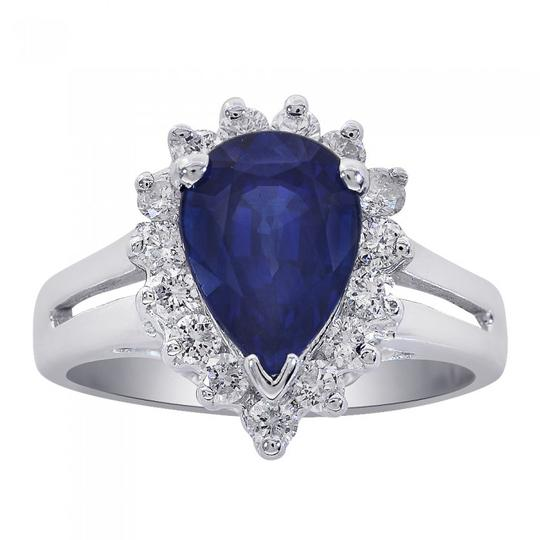 Preload https://img-static.tradesy.com/item/21707357/avital-and-co-jewelry-18k-white-gold-225-carat-pear-cut-sapphire-with-050-carat-diamonds-ring-0-0-540-540.jpg