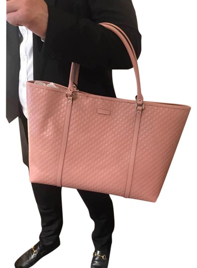 Preload https://img-static.tradesy.com/item/21707691/gucci-gg-guccissima-leather-lager-pink-tote-0-1-540-540.jpg