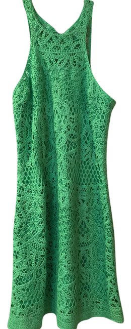 Preload https://img-static.tradesy.com/item/21707743/lilly-pulitzer-green-crochet-cocktail-dress-size-8-m-0-1-650-650.jpg