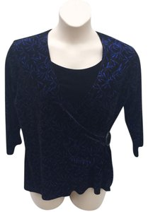 Notations Top Black and Blue
