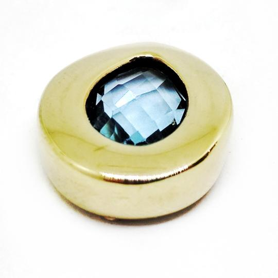 DeWitt's Faceted Blue Topaz Pendant