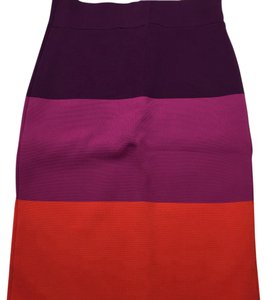 BCBGMAXAZRIA Mini Skirt purple pink red