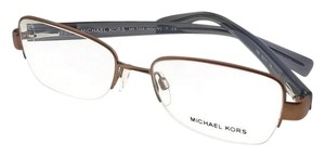 Michael Kors MK7008-1081-53 Mitzi Women's Brown Frame Genuine Eyeglasses