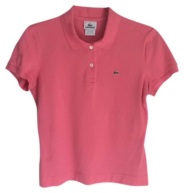 Preload https://img-static.tradesy.com/item/21708213/lacoste-pink-slim-fit-stretch-button-down-top-size-8-m-0-1-650-650.jpg