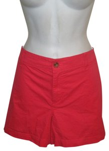Old Navy Boyfriend 16 Plus-size Mini/Short Shorts Coral