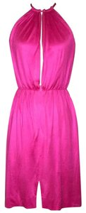 Stephen Sprouse short dress Pink on Tradesy