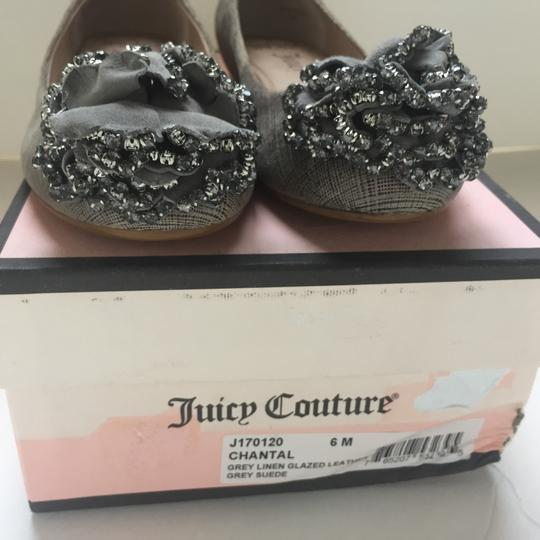 Juicy Couture Grey / Silver Flats