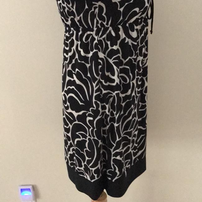 I N C short dress black and cream on Tradesy