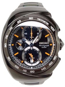 Seiko Seiko Alarm Chronograph Stainless Steel Men's watch #SNAB45